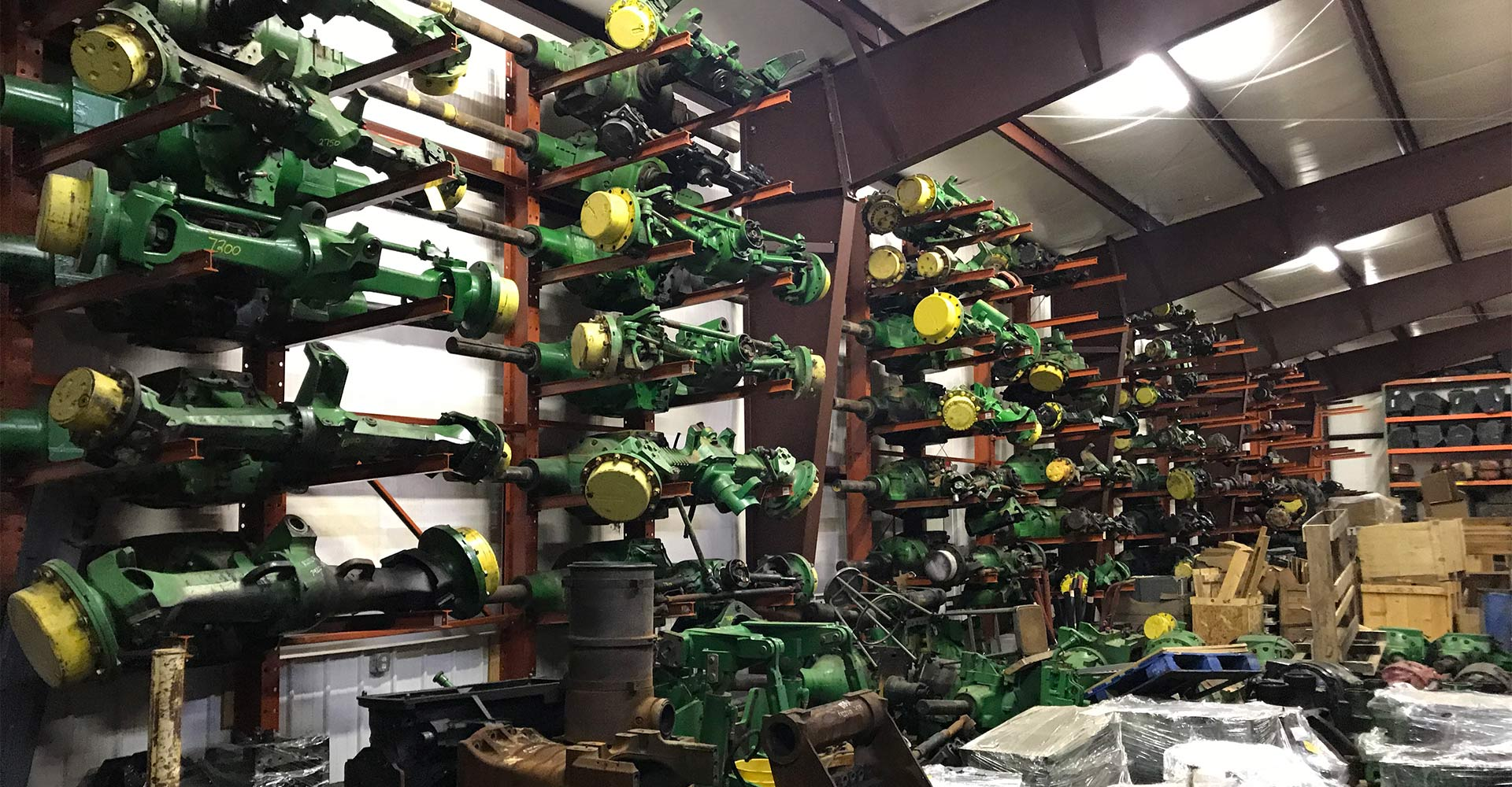 John Deere axels at Hill-T Farm Parts