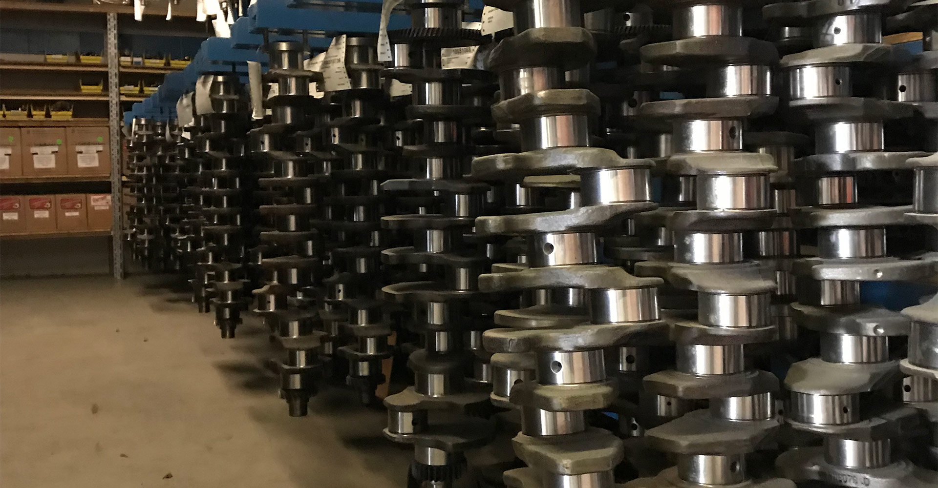 Crankshafts and crankshaft parts at Hill-T Farm Parts